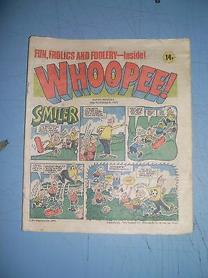 Whoopee issue dated November 14 1981