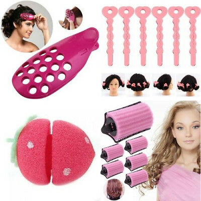 Front Hair Styling Blow Tool Fringe Bangs Curler Roller Holder Dry Salon Clip