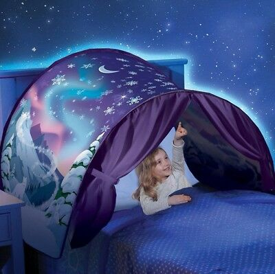 Kids Tent Mosquito Net ,YOYOUG Hot Kids Pop Up Bed Tent Winter Wonderland