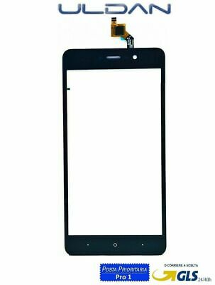 TOUCH SCREEN VETRO WIKO LENNY 4 PLUS 4+ NERO VETRINO Digitizer 5.5""