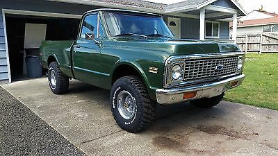 1970 GMC Other Cheyenne 1970 GMC Short bed K10 with Chevy grill and tailgate
