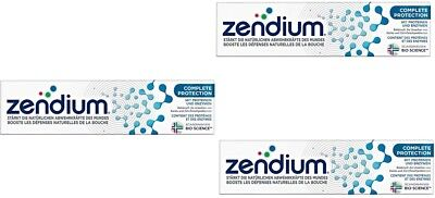 Zendium Complete Protection Mouthwash 500ml + Tootpaste 75ml New from Germany