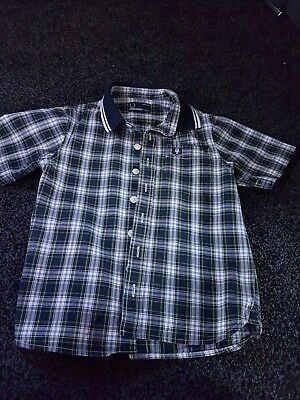 boys fred perry shirt aged 4-5