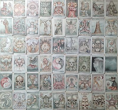 Lost Tarot Deck Occult Magick Prophecy Fortune Telling Dominic Murphy Art Unique