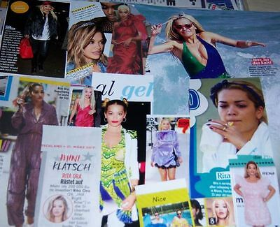 Rita Ora 55 pc German Clippings Collection Poster Full Pages