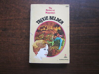 THE MYSTERY AT MAYPENNY'S Trixie Belden #31 by Kathryn Kenny 1980 Book