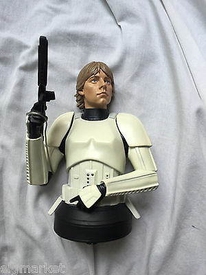 Star Wars Gentle Giant Luke Skywalker Stormtrooper Disguise Bust SDCC Exclusive