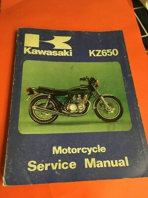 Kawasaki Service Manual Kz650 1978-79