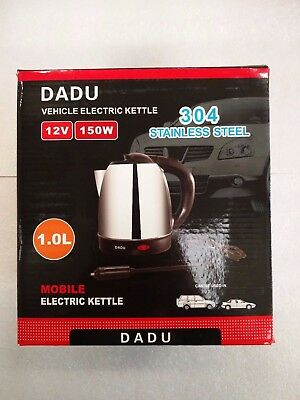 Electric Kettle for Vehicle Stainless Steel 1L 12V | Ex-Demo