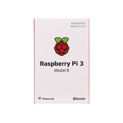 For Raspberry Pi 3 Model B 1GB Ram WiFi Bluetooth 4.1 Quad Core 1.2GHz 64bit CPU