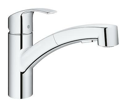 GROHE 30305000 Eurosmart Mixer tap single knob for sink chrome