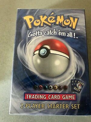 Pokemon WOTC  BRAND NEW Factory Sealed 2 Player Starter Set THEME DECK