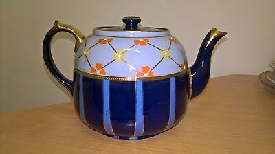 Royal Stanley Ware Hand Painted Teapot