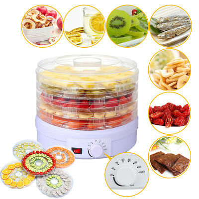 350W Electrical Food Dehydrator Machine With Thermostat Control 5 Tier
