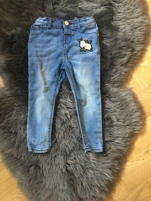 River Island Girls Jeans Aged 3 Years
