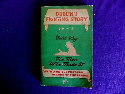 Dublin's Fighting Story 1947 Book Signed By Nora Connolly O'brien Activist 1916.