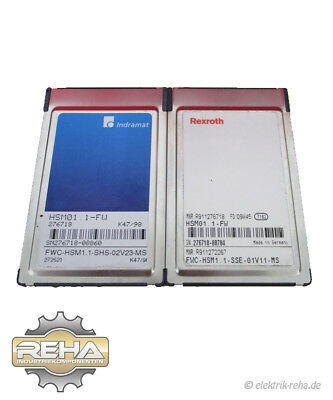 Indramat 2x HSM01.1-FW Memory Card