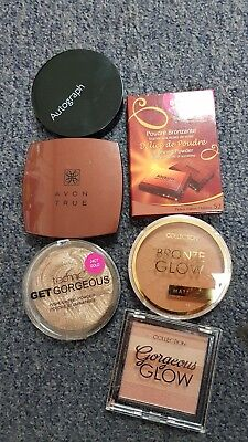 Bourjois and Autograph and Avon bundleand 2 others bronze powder £15.00 free p&p