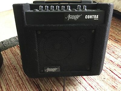 Acoustic Image Contra 2 bass combo with extension cabinet. Good for double bass.