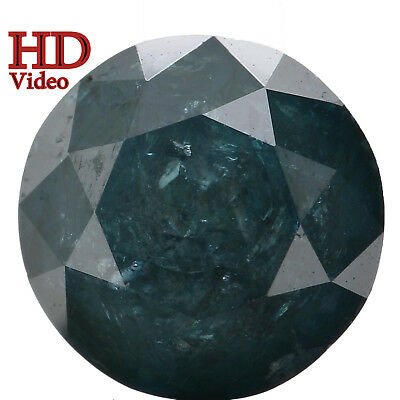 7.10 MM 1.79 Ct Natural Loose Diamond Cut Round Shape Blue Color I3 Clarity L546