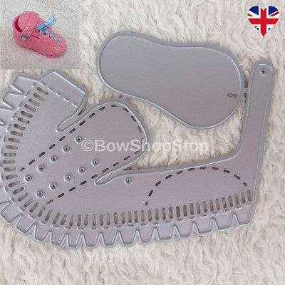 Baby Toddler Small 3D Shoe Cutting Die compatible with Sizzix Big Shot