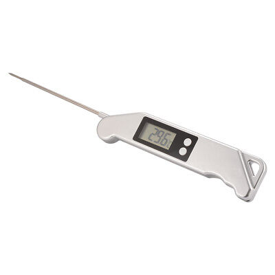 Digital Food Thermometer LCD Folding Probe Grill Barbecue Meat Thermometer BI807