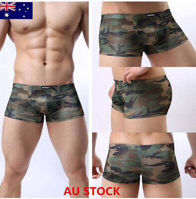 AU STOCK New Underpants knickers Sexy Men's Boxer Briefs Shorts Underwear Pants
