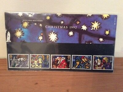 First day cover stamps Christmas 1992