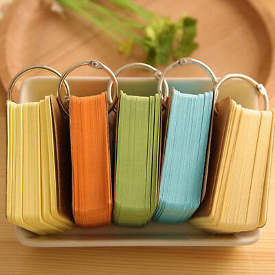 Portable Can tear Notebook Card Small Notebook