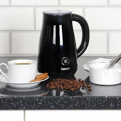 Igenix Cordless Milk Frother & Warmer Black Model IG8651