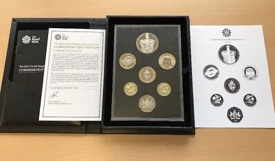 2013 Royal Mint United Kingdom Proof Coin Set - Commemorative Edition