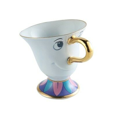 Beauty and the Beast Tea Set Mrs Potts' son Chip Cup Coffee Mug Gift ceramics