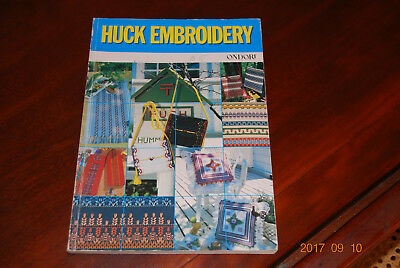 Huck Embroidery Pattern Book