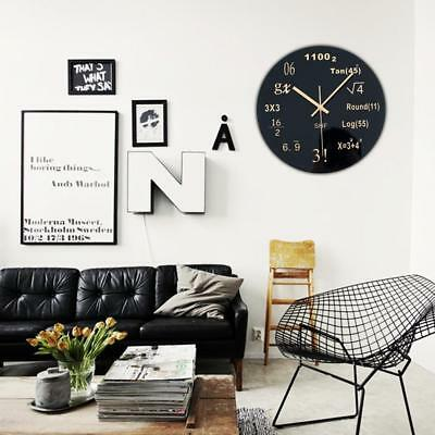 MATH CLASS Wall Clock chalkboard mathematics teacher classroom gift LEX