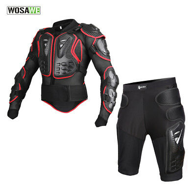 Body Protective Armour&Shorts for Motorcycle Jackets Hip Protector Safety Racing