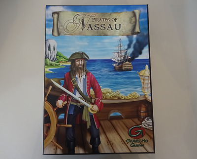 PIRATES OF NASSAU - Historical Strategy Board Game - Gung Ho Games -  SALE PRICE