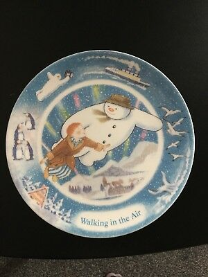 Coalport 2002 Walking In The Air The Snowman Plate Limited Edition