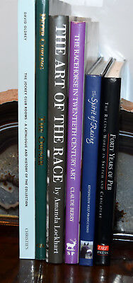 Collection Of  Horse Racing Books With Art Content (6 Books)
