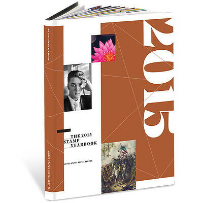 USPS New 2015 Stamp Yearbook w/ Collectible Stamp Packet