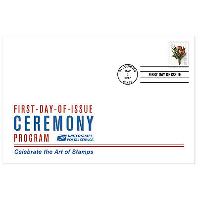 USPS New Celebration Boutonniere Ceremony Program