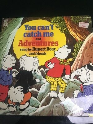 Rupert Bear And Friends You Can't Catch Me