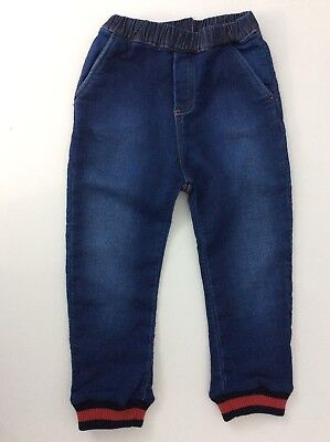 Gucci Boys Denim Jeans Combats Size 36 Months Age 3 Years Immaculate Pull Up