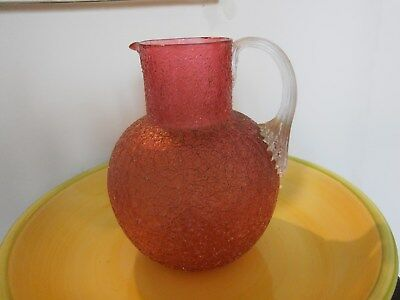 Pink Crystal Glass Vase