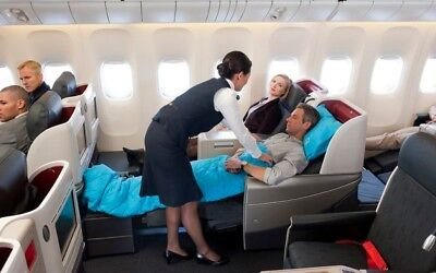 1 x Business Class flight ticket return from any UK Airport