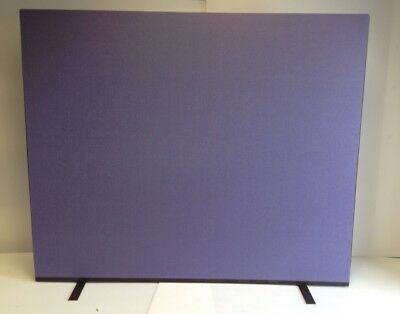 Purple Woolmix PanelWarehouse Office Screen/Divider/Partition 1800W x 1500H