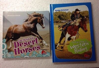 The Book of Desert Horses, Slawik & The Fact Book of Western Riding, McFarland
