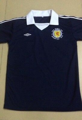 Scotland 1978 Retro World Cup Shirt Home