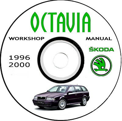 Workshop Manual,Manuale Officina Skoda Octavia 1U,1a serie anno 1996/2004.