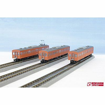 Rokuhan T022-8 Z Scale Jnr Series 103 Orange Chuo Line Type 3 Cars Add-On Set