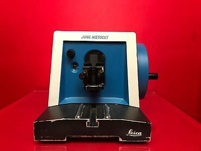 Reichert-Jung 820 Histocut Microtome Rotary